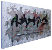 4 Feet Wide █original█oil█painting█large█impressionist█art█realism█abstract Pop