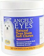 Angeland039s Eyes Safe And Soft Chews Natural Tear Stain Remover For Dogs 120 Ct.