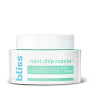 Bliss Mint Chip Mania Soothing Facial Mask For Hydrating, Nourishing And Replenish