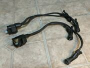 And03997-and03906 Honda Outboard Bf 75 90 Hp Oem Two Ignition Coils And Wires 30500-zw1-505