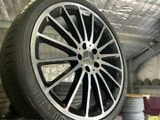 4x Like Genuine Mercedes Benz Amg Cla250 - A250 19 And Continental Tyres