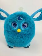 Teal Blue Large Furby 2016 Bluetooth Connectivity Kids Toy Collectible