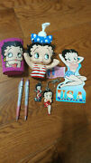 Lot Of 7 Betty Boop Fun Collectables Vintage Must Have For A Dedicated Fan