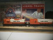 Lionel 6-8030 8254 Illinois Central Ic Gp-9 Diesel Engines Power And Dummy