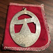 1978 Lunt Sterling Silver Christmas Tree Christmas Ornament