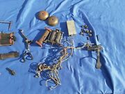 Vintage American Chicago Telephone Supply Company Wall Phone Parts