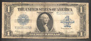 1923 One Dollar Bill 1 Large Size Note Silver Certificate Circulated 34907