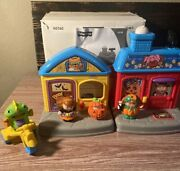 Fisher Price Little People Halloween Trick Or Treat Surprise House