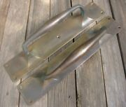 Large Old Pair Of Reclaimed Solid Brass Door Handle Pulls / Shop Pub Bar 14