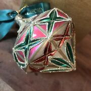 Waterford Holiday Heirlooms Christmas Ornament Nostalgic Collection 1998