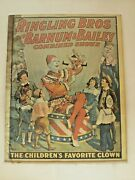 Antique Ringling Barnum And Bailey The Childrenand039s Favorite Circus Poster Original
