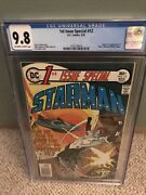 Bronze Age Dc 1st Issue Special 12 Cgc 9.8 19761st Blue Starman