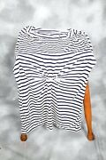 Whistle Navy Blue And White Tunic Bnwot Size 12