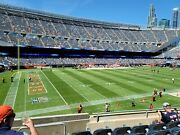 2 Tickets Chicago Bears Vs Detroit Lions 10/3/21 United Club Section 214 Row 5