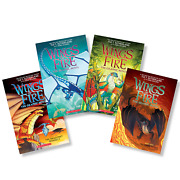 Wings Of Fire Graphic Novel Book Collection Volumes 1-4 Dragonet Prophecy
