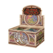 Flesh And Blood Tales Of Aria Booster Box 1st Edition Free Shipping
