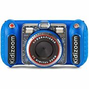 Vtech 80-520000 Kidizoom Duo Dx Digital Photography Mp3 Blue With Mp3 Player