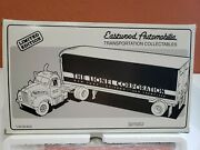 1/34 Scale 1st. Gear Eastwood 1960 Model B-61 Lionel Mack Tractor And Trailer.