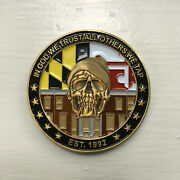 Fbi Challenge Coin - Baltimore Field Office - Safe Streets Task Force Sstf