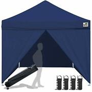 Eurmax 10 X 10 Pop Up Canopy Commercial Tent Outdoor Instant Canopies Party Shel