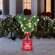 Disney Mickey Mouse 3 Ft Shimmering Magic Led Tree Merry Christmas Sold Out New