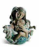 Lladro Retired Contentment 01013043 Mother Baby Limited Edition