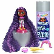 Hairdorables Longest Hair Ever Kali, Includes 8 Surprises, 10-inches Of Hair To