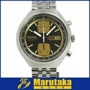 Seiko Square Chronograph 6138-8039 John Player Special Edition 40mm Automatic