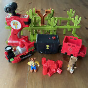 Geotrax Train Remote Control Disney Toy Story Woody Parts Fisher Price Rc Works