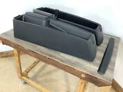03-06 Chevy Ssr Driver And Passenger Pair Of Bed Storage Boxes Textured Black