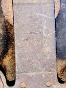 Antique Ignition Coil Ford Model T Wooden Dovetailed Battery Buzz Box Vintage