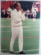 Al Davis Signed Autographed Oakland Los Angeles Raiders 20x27 Poster To Nick