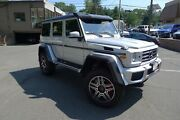 2017 Mercedes-benz G-class G550 Squared Mint Extremely Low Mileage 2017 G550 In Stunning Silver Over Black