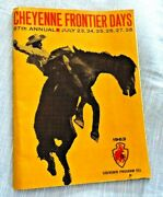 Cheyenne Frontier Days Rodeo Cowboy Indian Dances Chuck Wagon Races 1963