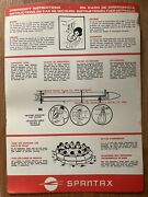 Spantax Airlines Convair 990 Safety Card 1970s