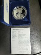 2002 American Silver Eagle Proof Dollar Us Mint Ase Ogp Coin With Box And Coa