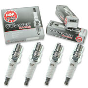 4pcs Mercruiser 325 From 3043030 Ngk V-power Racing Spark Plugs Stern Drive Pd