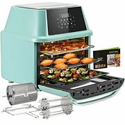 Air Fryer Oven Countertop Combo With Rotisserie And Dehydrator Digital Controls