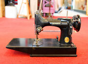 Antique Singer Featherweight Sewing Machine A 980639 Restoration Project Parts