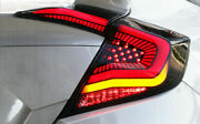 New-style Led Taillights Assembly For Honda Civic Dark Led Rear Lights 2016-2020