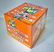 Rare Vintage 1986 Zeta Especial Fizz Wizz Candy Sealed Full 48 Ct. Box Container