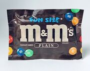 Rare Vintage 1995 Hershey M And Mandrsquos Chocolate Candy Sealed Fun Pack Container 90andrsquos