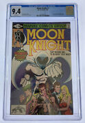Moon Knight 1 Cgc 9.4 White Pages 1980 Marvel Comics Origin Of Moon Knight