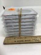 7 Morgan Silver Large Dollar Coin Holder Storage Grading Cases New Never Used
