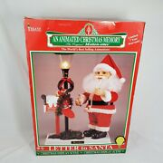 1995 Motionettes Letters To Santa Christmas Holiday Animated Table Display Telco