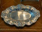 Beautiful Reed And Barton Sterling Silver Francis 1st Bread Tray