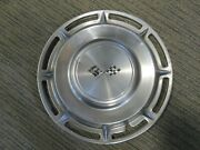 1960 Chevy Impala / Bel Air Crossed Flags Chevrolet 14 Hubcap