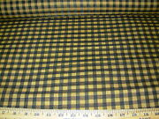 5 Yds Genuine Horsehairstroheim Falabella Plaid Upholstery Fabric For Less