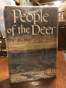 1st Edition 1st Printing People Of The Deer By Farley Mowat Authorandrsquos 1st Book