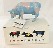 Cows On Parade Collectible Figurine Lullaby Nib Retired